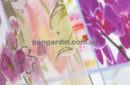 Тюль с крупными цветами